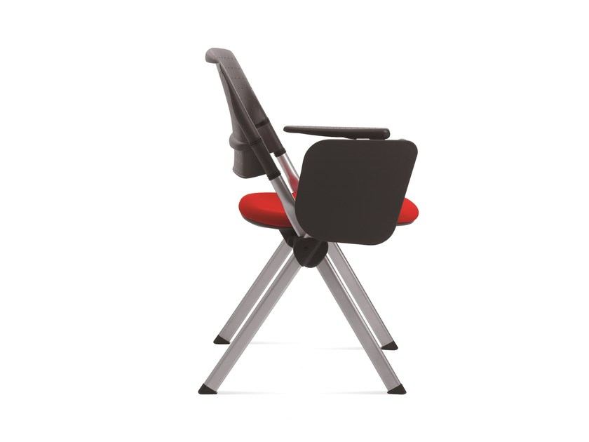 Stackable training chair with writing tablet 18MILA | Training chair with writing tablet by Emmegi