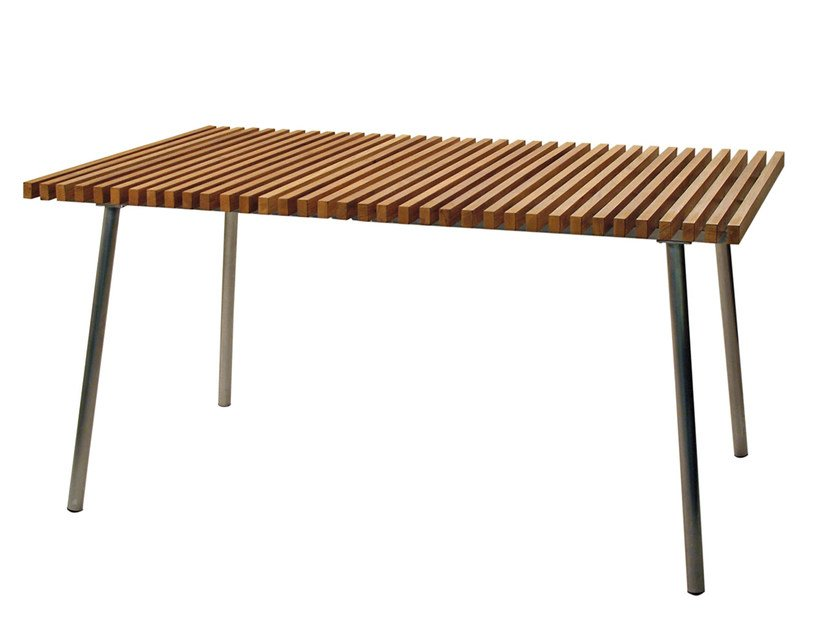 Teak garden table TRAMA | Table by calma