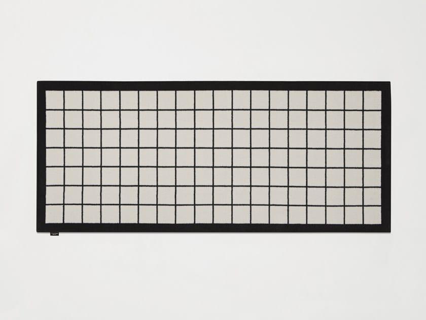 Tappeto rettangolare in velluto TRAMATO TR441 by Antonio Lupi Design