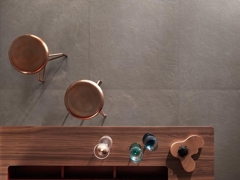 Full-body porcelain stoneware flooring TRAME PLASTER TORTORA by LEA CERAMICHE