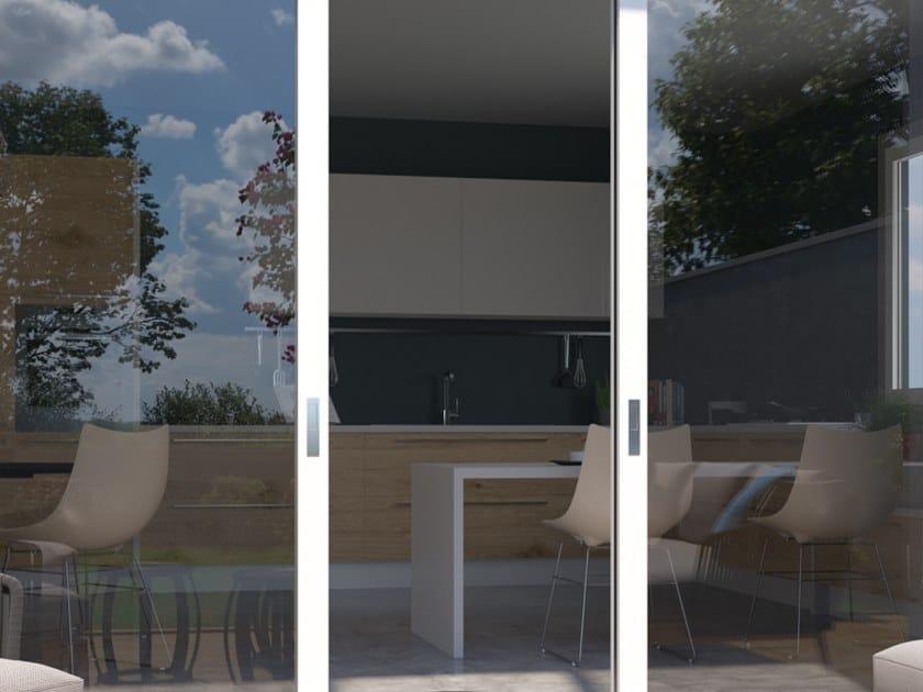 Pellicola per vetri a controllo solare adesiva TRASPARENTE 065 by Artesive