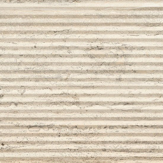 Porcelain stoneware wall/floor tiles with stone effect TRASTEVERE VIBRATO LINEE IVORY by Ceramica Fioranese