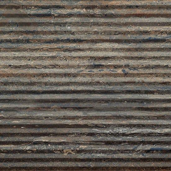 Porcelain stoneware wall/floor tiles with stone effect TRASTEVERE VIBRATO LINEE MOKA by Ceramica Fioranese