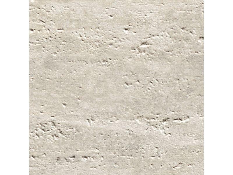 Porcelain stoneware wall/floor tiles TRAVERTINO ROMANO SCANALATO SILVER by Ceramiche Coem