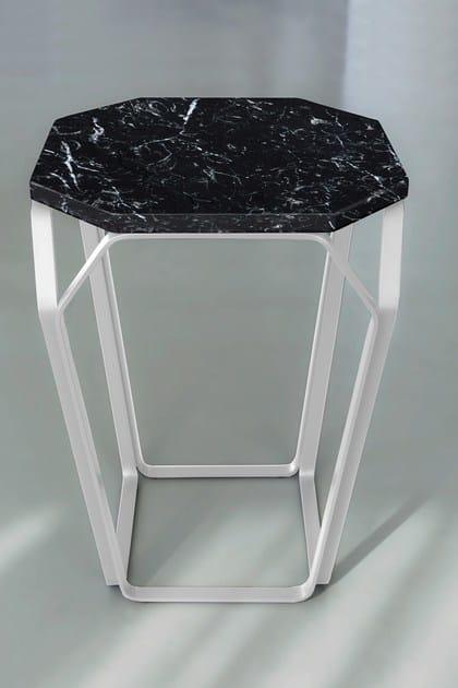 TRAY 1 | Tavolino in marmo