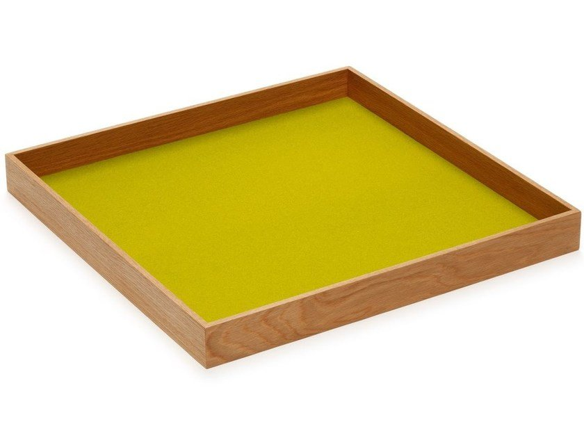Square wooden tray Tray by HEY-SIGN