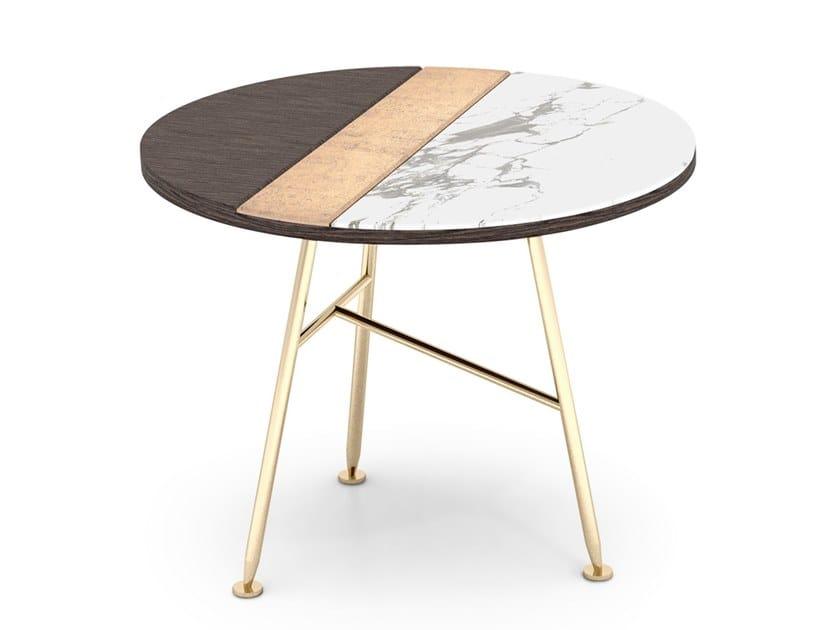 Tray Tavolino Rotondo By Sicis Design Massimiliano Raggi