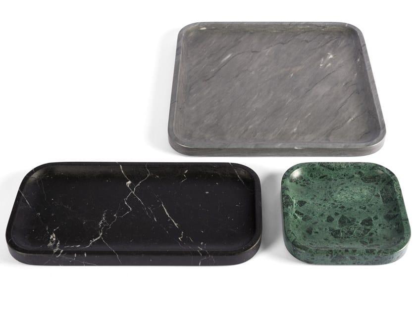 Marble tray PIETRA L 04 by SALVATORI