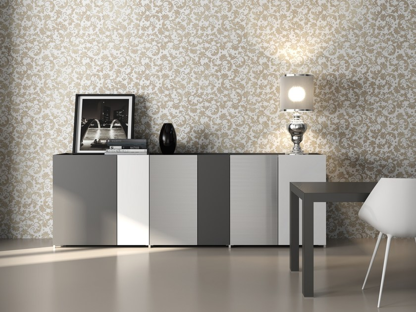 HPL sideboard with doors TRAYBOX | HPL sideboard by De Rosso