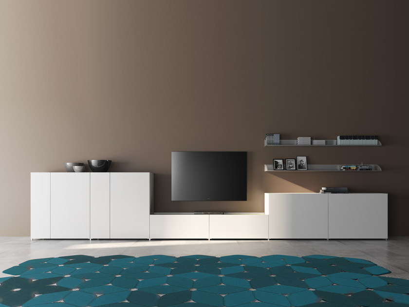 PVC sideboard with doors TRAYBOX | PVC sideboard by De Rosso