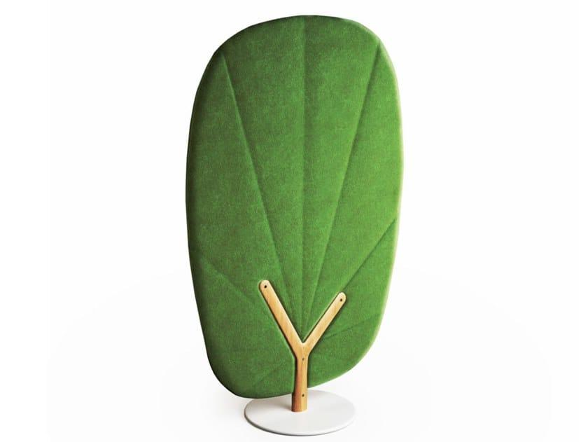 Painel divisor fono-absorvente autoportante TREE by Mikomax Smart Office