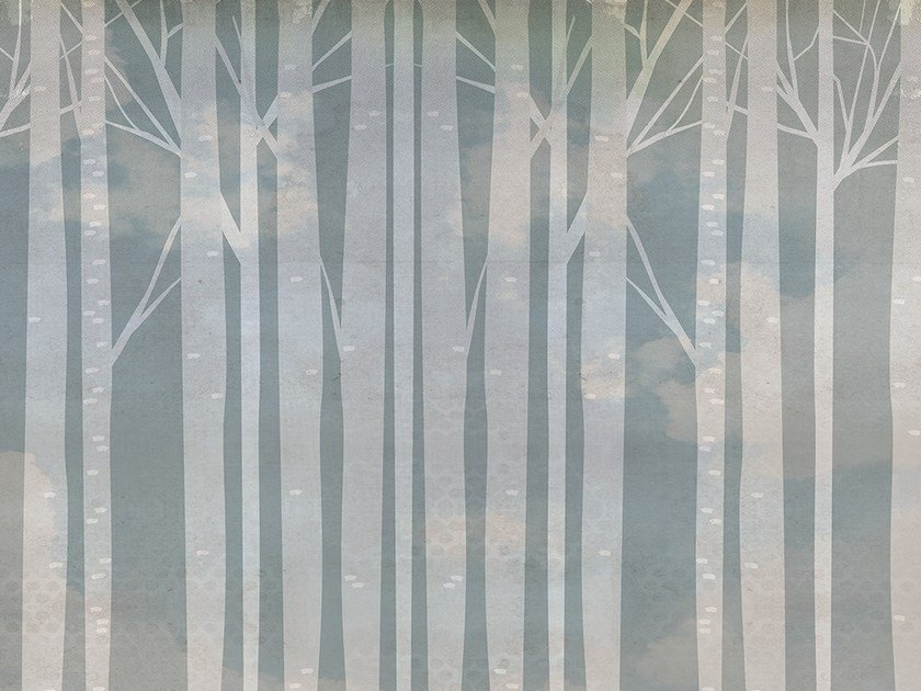 Wallpaper TREES by Adriani e Rossi edizioni