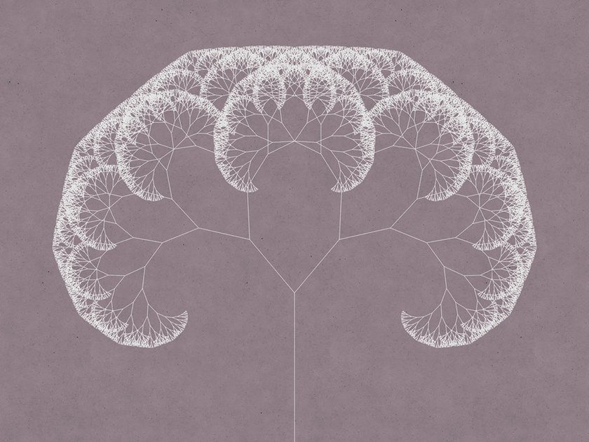 Digital printing wallpaper TREES by Architects Paper