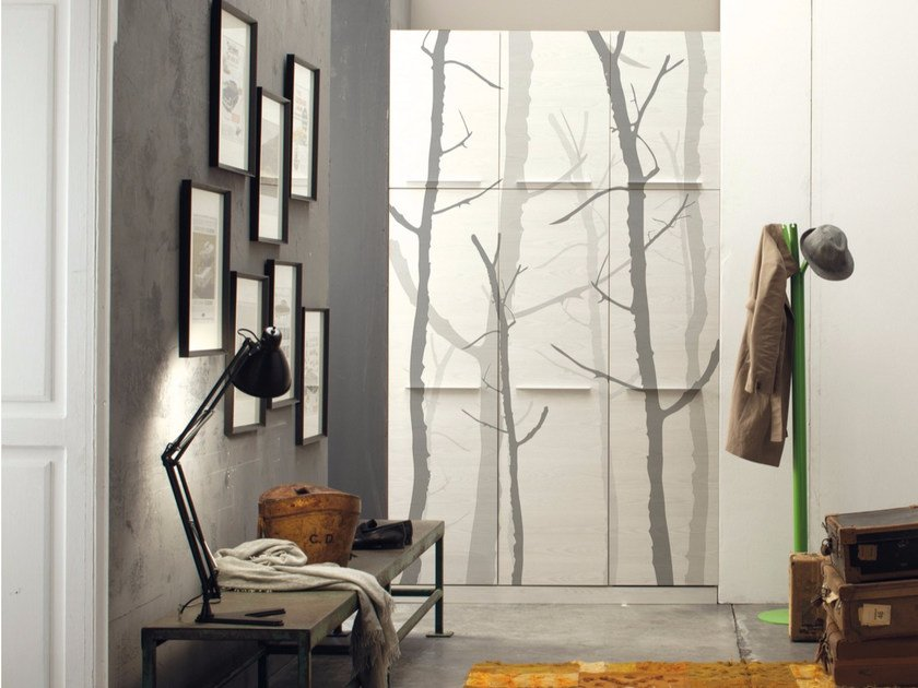 Landscape wallpaper TREES by Inkiostro Bianco