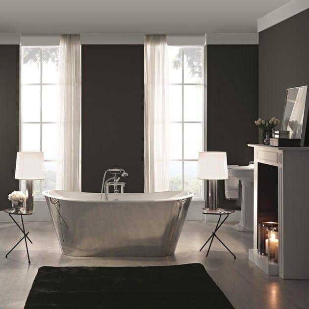 Vasca da bagno in acciaio in stile classico TRENDY STEEL by BLEU PROVENCE
