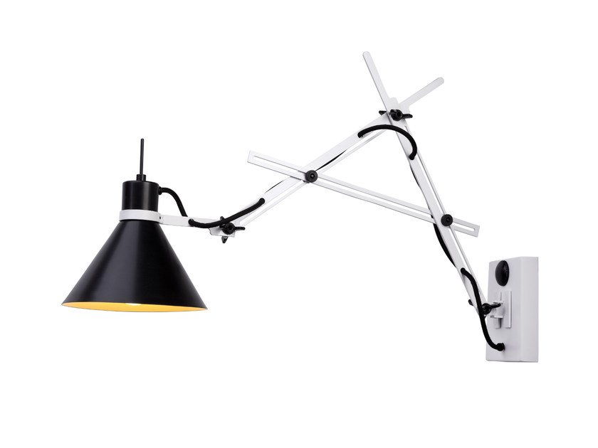 Adjustable wall lamp TRENS A by luxcambra