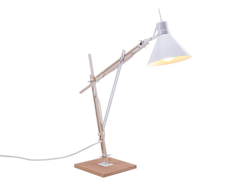Adjustable table lamp TRENS S by luxcambra