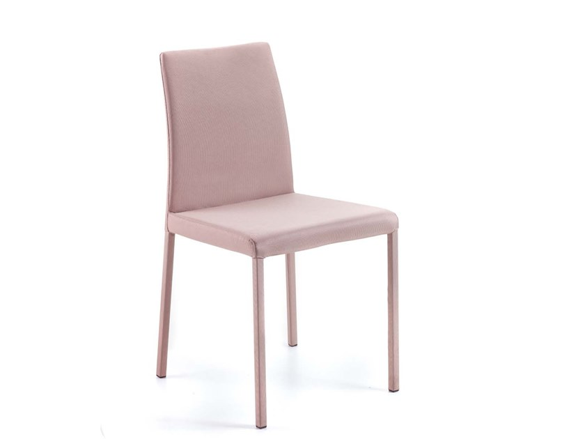 Upholstered stackable chair TREVISO | Upholstered chair by Trevisan Asolo