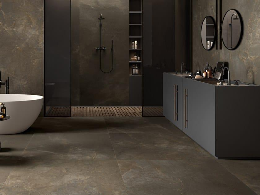 Pavimento/rivestimento in gres porcellanato a tutta massa effetto marmo TREX3 TO by LaFaenza