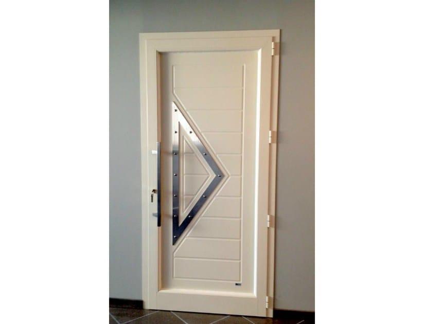 Aluminium door panel TRIANGOLO/X by ROYAL PAT