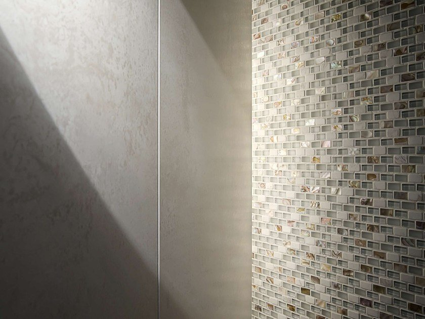 Natural stone, glass and mother of pearl mosaic TRIBAL by L'ANTIC COLONIAL