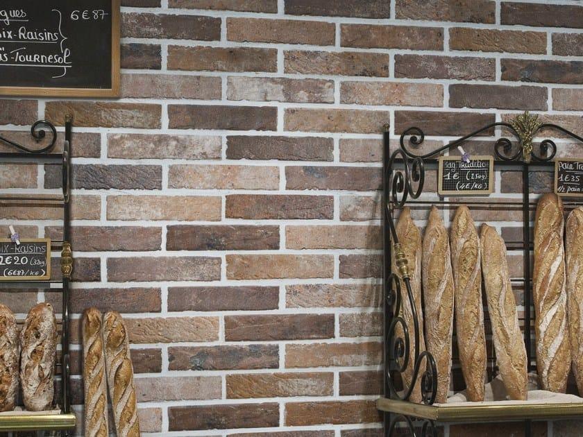 Rivestimento in gres porcellanato effetto mattone tribeca for Andrea castrignano colori pareti