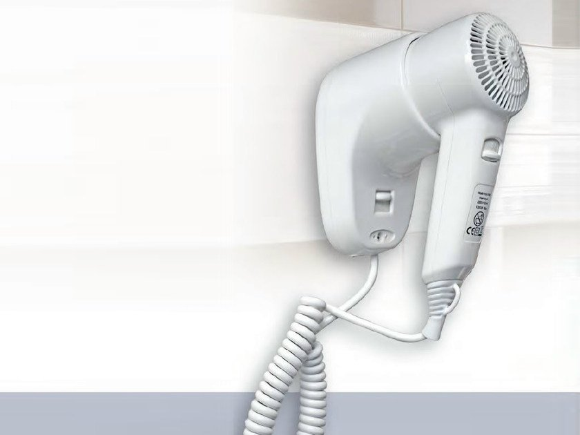 Electrical hairdryer for hotels TRICKY DRYER by Mo-el