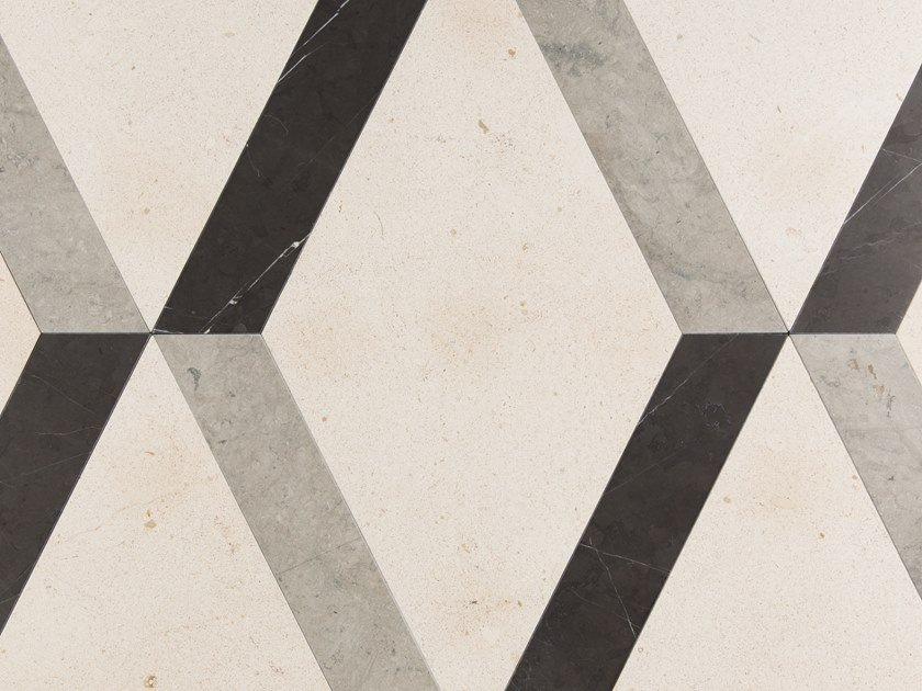 Indoor slate wall/floor tiles TRIDIMENSIONALE by Palazzo Morelli