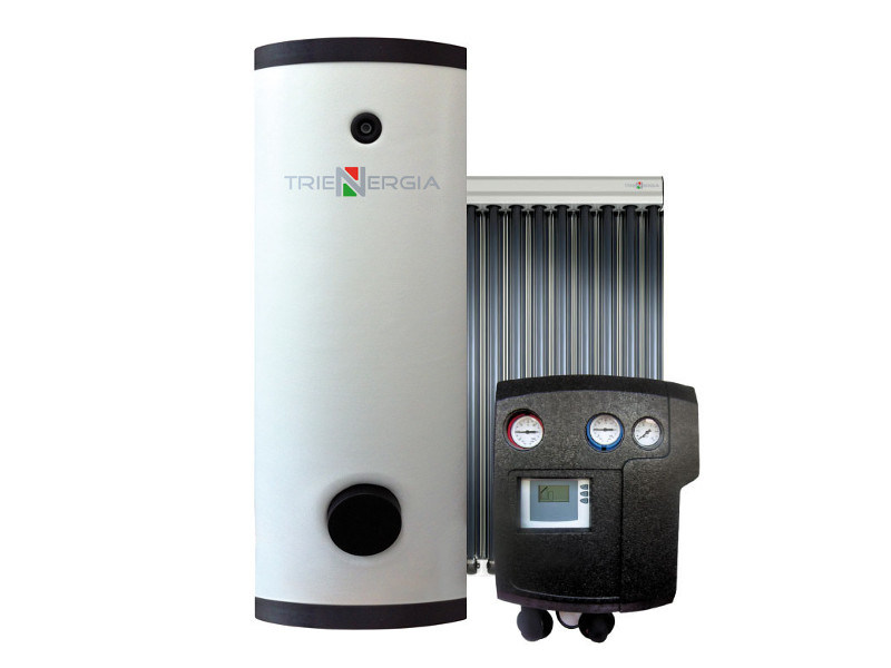 Forced circulation Solar heating system TRIENERGIA EXTRA ACS-PDC-SV10T 800-2000 by Coenergia