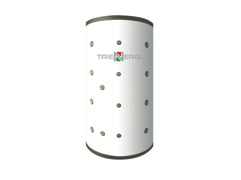 Boiler for solar heating system TRIENERGIA PUFFER TRPxxxNT by Coenergia