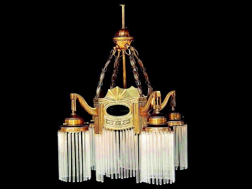 Direct light handmade brass pendant lamp TRIEST III | Pendant lamp by Patinas Lighting