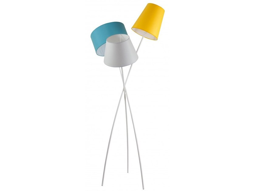 Metal floor lamp TRILOGIE by Flam & Luce