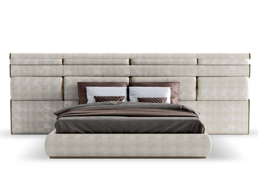 Double bed with upholstered headboard TRILOGY XL by Capital Collection