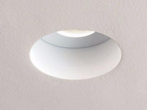 Recessed round steel spotlight TRIMLESS by Astro Lighting