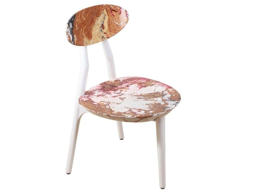 Solid wood chair TRINOGU | Wooden chair by ALANKARAM