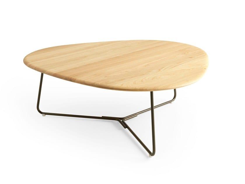 TRIPOD | Table basse en chêne By Pode design Stephan Veit