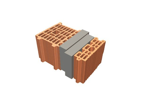 Thermal insulating clay block TRIS® 39X26X19 by T2D