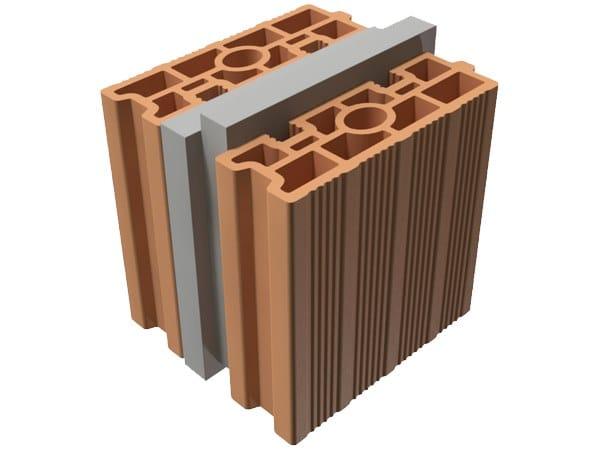 External masonry clay block TRIS® 22X25X25 by T2D