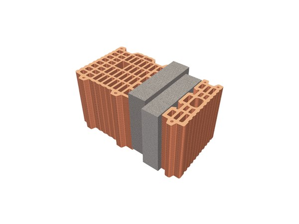 Thermal insulating clay block TRIS® 39X26X24 by T2D