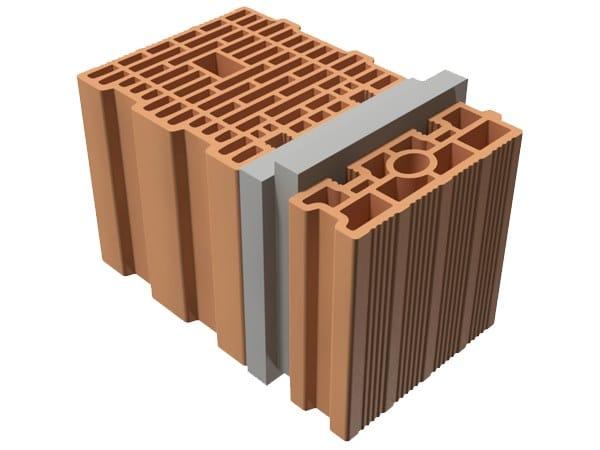 External masonry clay block TRIS® 40X25X25 by T2D