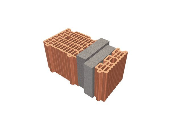 Thermal insulating clay block TRIS® 44X26X24 by T2D
