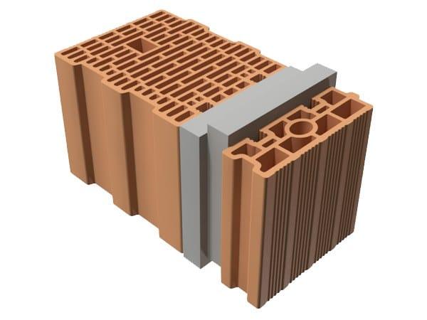 External masonry clay block TRIS® 47X25X25 by T2D