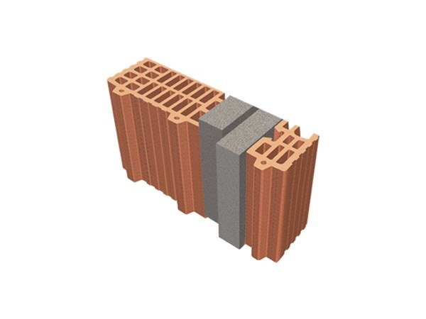 Thermal insulating clay block TRIS® 37X12X24 by T2D
