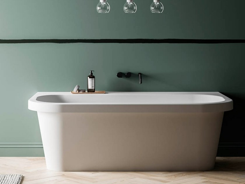BluStone oval bathtub TROCADERO by Blu Bleu