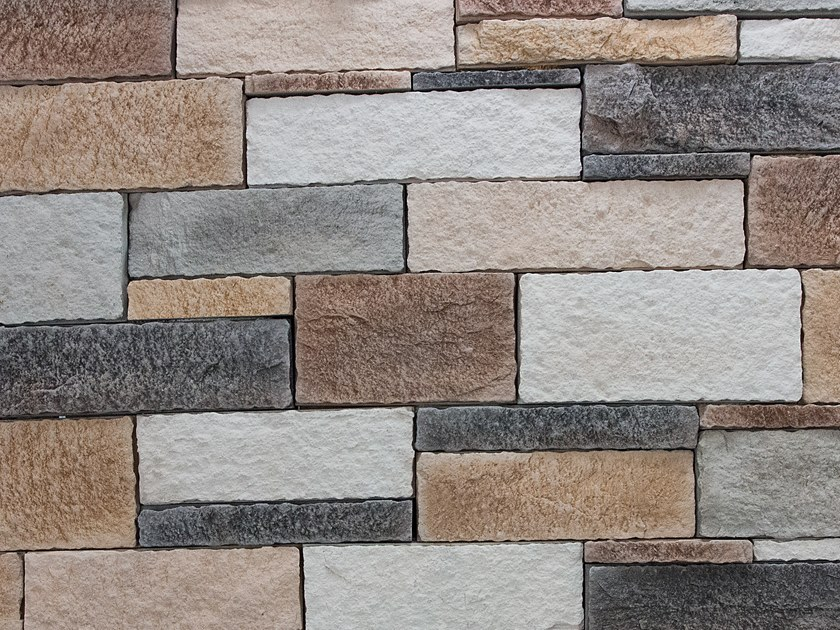Reconstructed stone wall tiles TROPEA by Decor