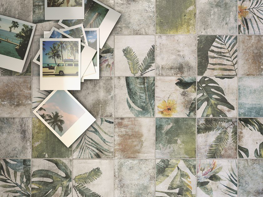 Porcelain stoneware wall/floor tiles TROPIC by ZYX