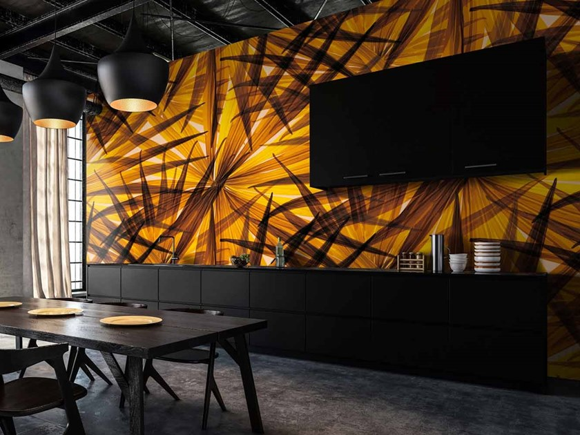 Digital printing Tropical wallpaper TROPICAL by LGD01