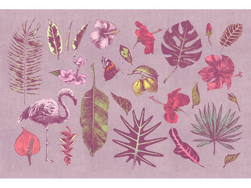 Digital printing Tropical wallpaper TROPICANA by Architects Paper
