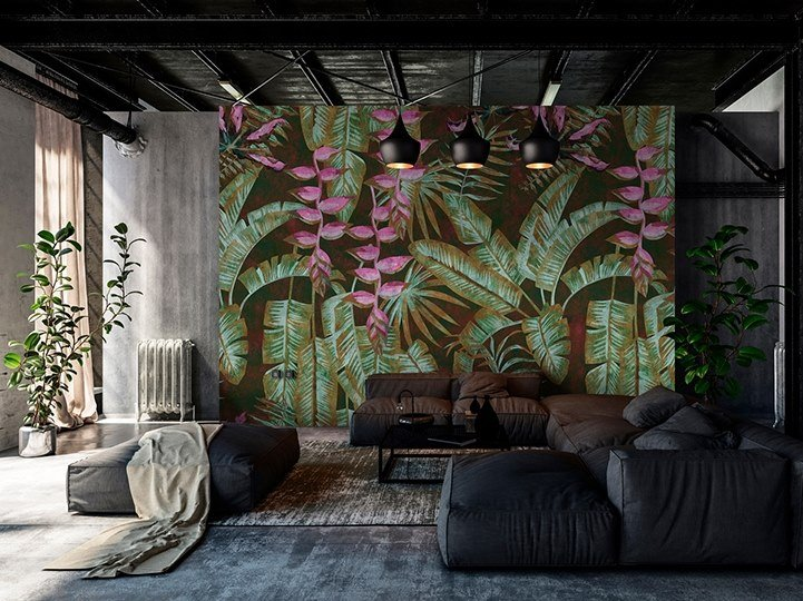 Digital printing Tropical wallpaper TROPICANA II by Architects Paper