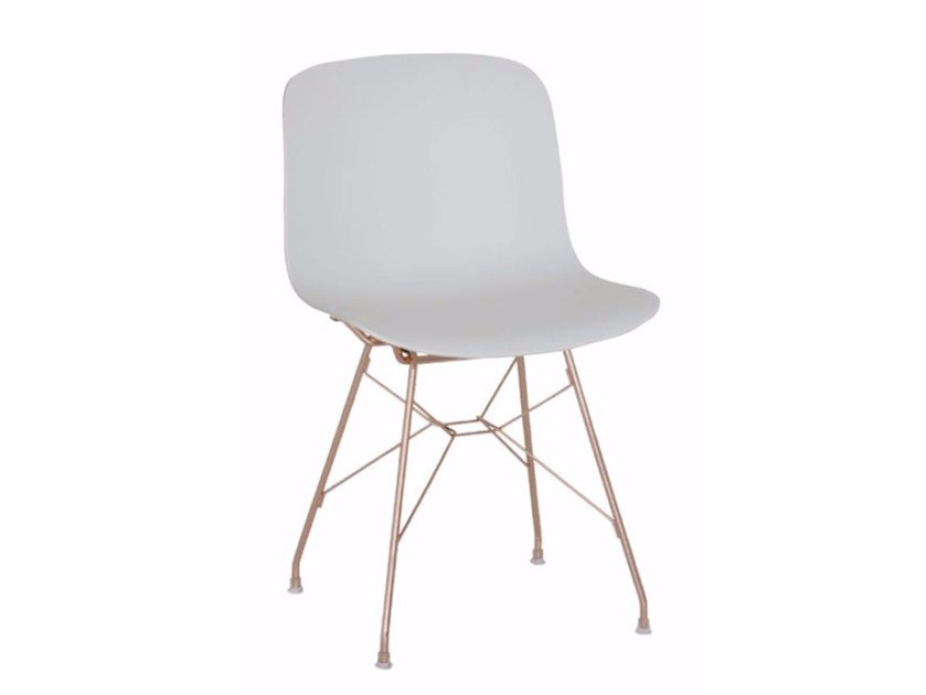 Polycarbonate chair TROY | Polycarbonate chair by Magis